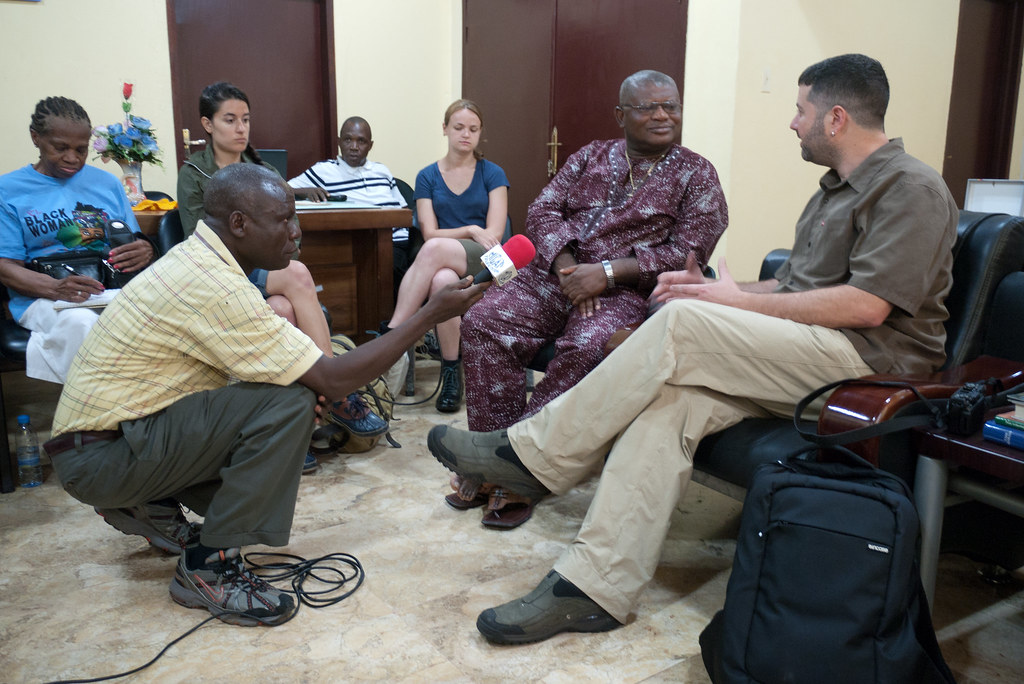 Together_Liberia_Project - First Day of Meetings in Monrovia.