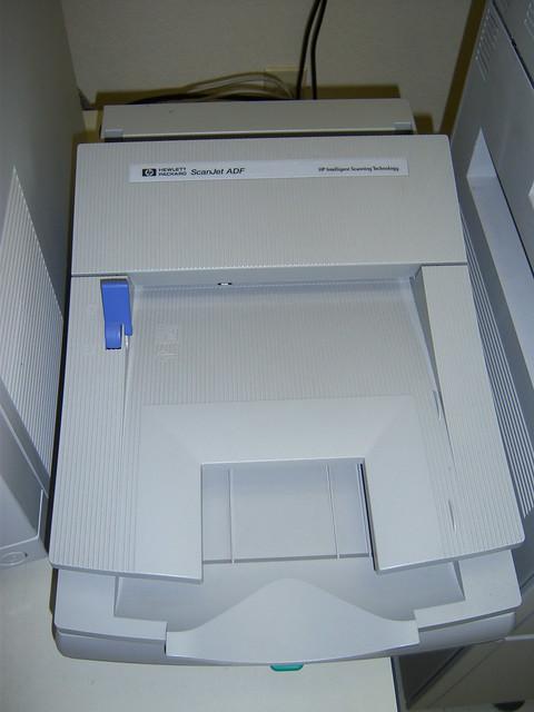 Hp scanjet 4100c scanner xp