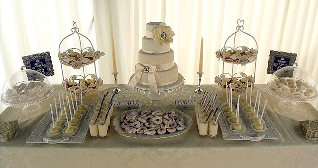 The table included 4 tier wedding cake fruit and red velvet two flavours