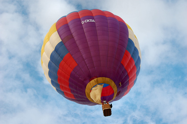 Up Up And Away...  :)