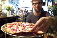 Kåre + pizza