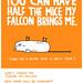 falcon (for Hallmark) by gemma correll
