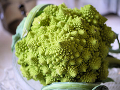 vegetable, flower, green, produce, food, broccoflower,