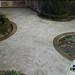 www.genialdecor.com  Decoración de piso con Textura de piedra natural.