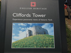 Yorkshire Holiday 2011, English Heritage - Cliffords Tower, York.