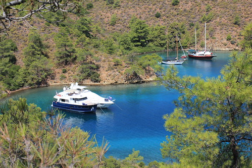 Blue Voyage-The Cove of Boynuzcuk-Datça