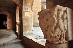 Chapiteau sculpté - Collection du Château de Castelnau-Bretenoux - Lot