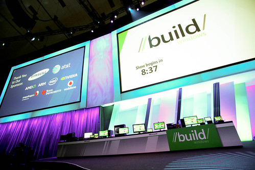 Microsoft BUILD conference in Anaheim 9/13/11.