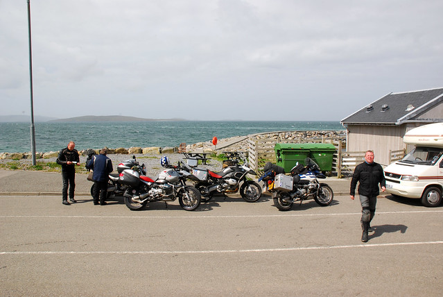 Waiting for the ferry to Barra on Eriskay.