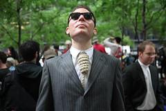 Got Your Neck in a Noose - Occupy Wall Street Protest NYC