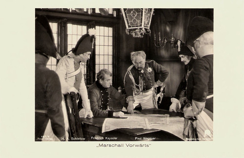 Hans Adalbert Schlettow, Friedrich Kayssler and Paul Wegener In Marschall Vorwärts (1932)
