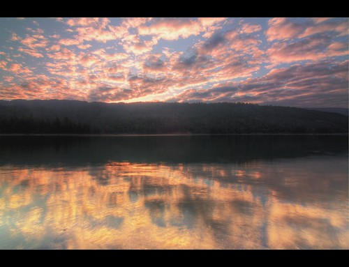 california ca cali clouds sunrise basslake