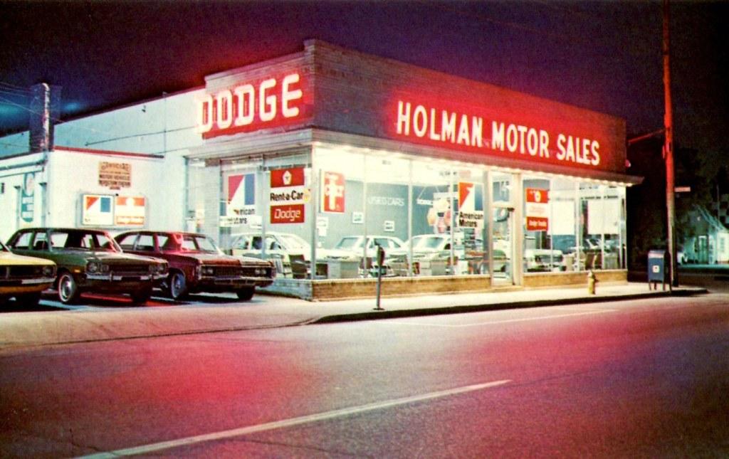 Holman Motor Sales Dodge Amc Floral Park Ny 1970s A