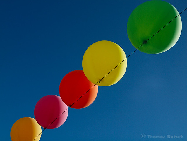 Balloons, San Francisco, California