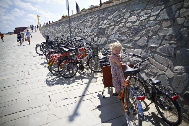 Barcelona Beach Parking