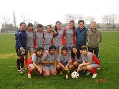Campeonas Fútbol Femenino Sub 18 Etapa Provincial