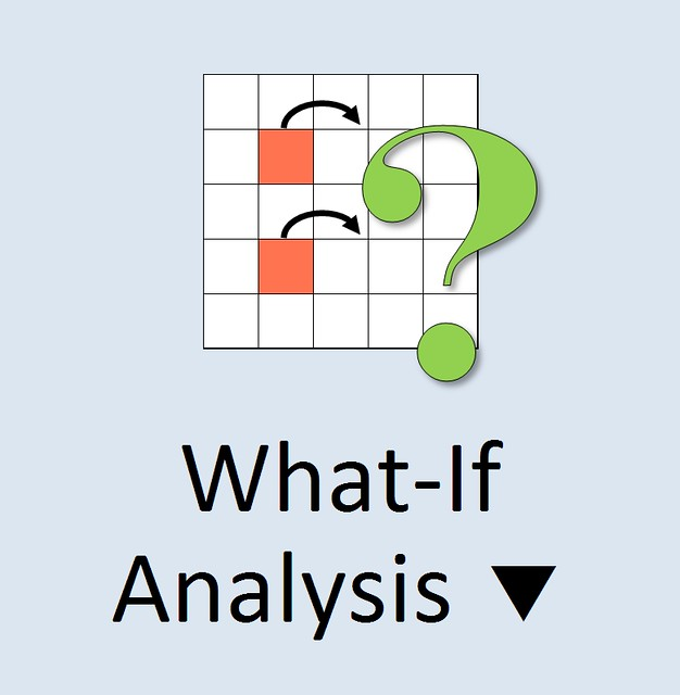 MS Excel 2010 ~ What-If Analysis Icon from Flickr via Wylio