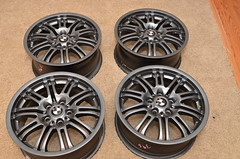 tire(0.0), automotive tire(0.0), grille(0.0), bicycle wheel(0.0), automotive exterior(1.0), wheel(1.0), rim(1.0), alloy wheel(1.0), hubcap(1.0), spoke(1.0),