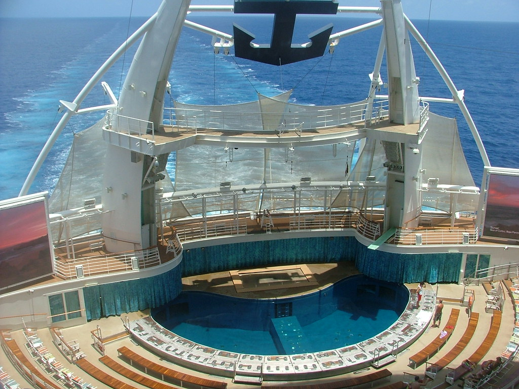 Aquatheater from Stateroom 10729