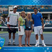 2011 W&S Open Coin Toss Winner- Federer vs Berdych 8-19