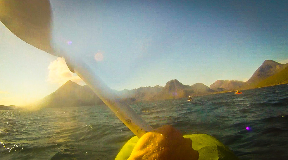 Packrafting to Coruisk