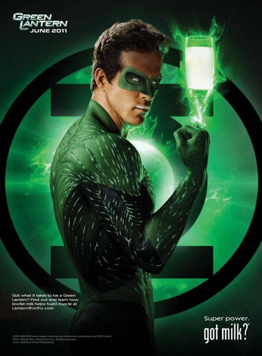 Got Milk? - Green Lantern (2010)
