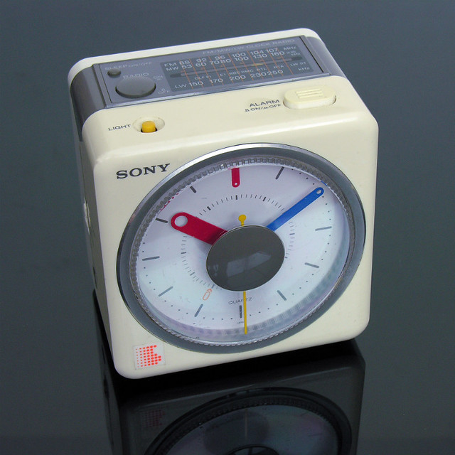sony radio alarm clock flickr photo sharing. Black Bedroom Furniture Sets. Home Design Ideas