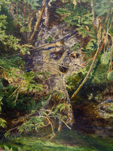 Tate Britain Millais Ophelia (skull detail)