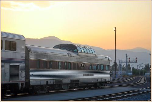 california travel mountains station sunrise july amtrak sanbernardino southwestchief 2011 sierrahotel