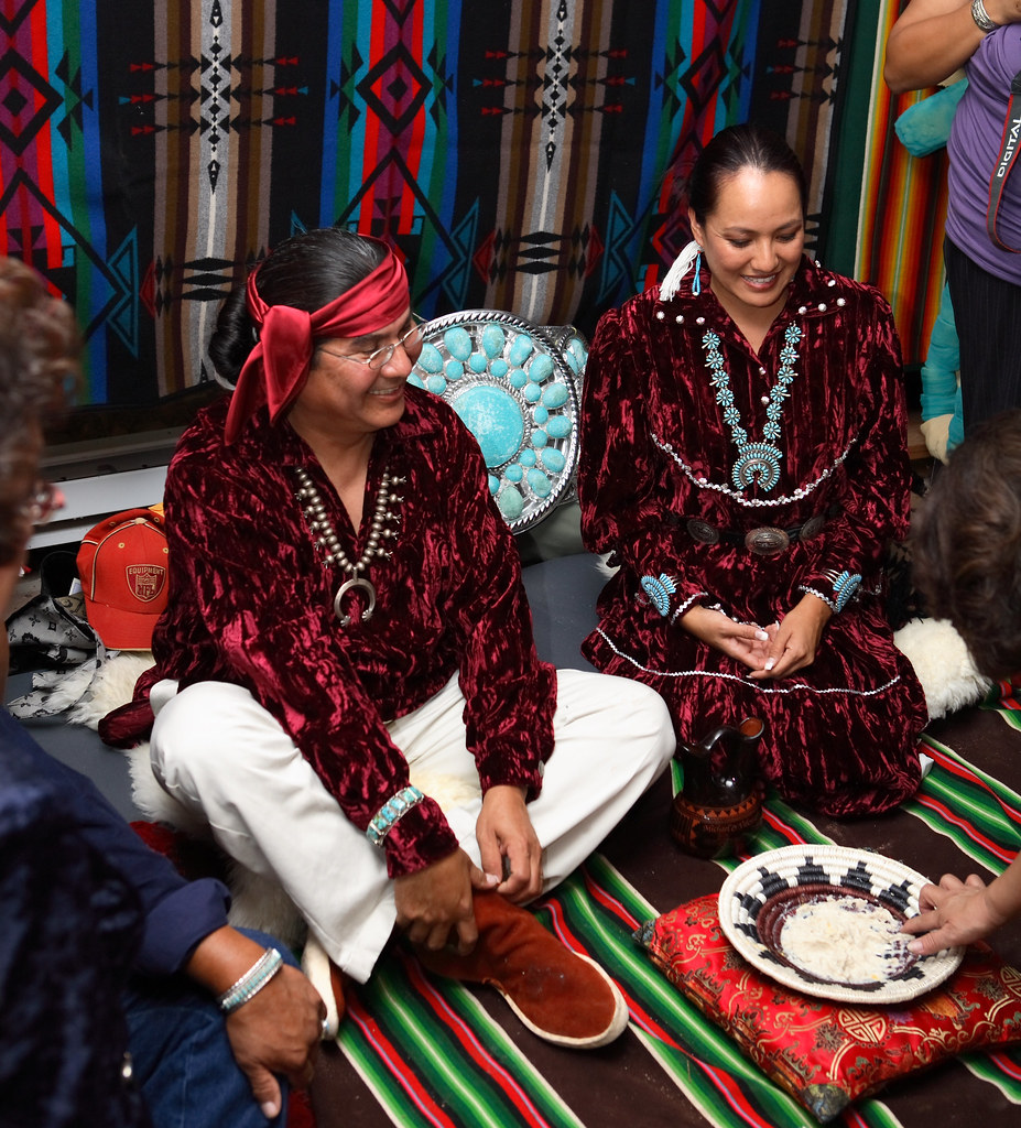 Navajo wedding sharing corn | Explore Vhardy's photos on ...