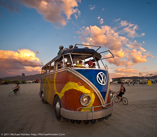 Giant VW Bus