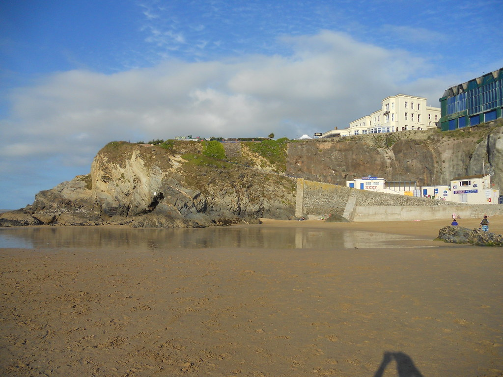 Newquay Rock Face