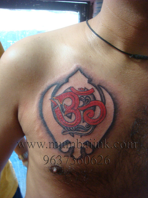 Om tattoo, khanda tattoo, punjabi tattoo, | Flickr - Photo Sharing!