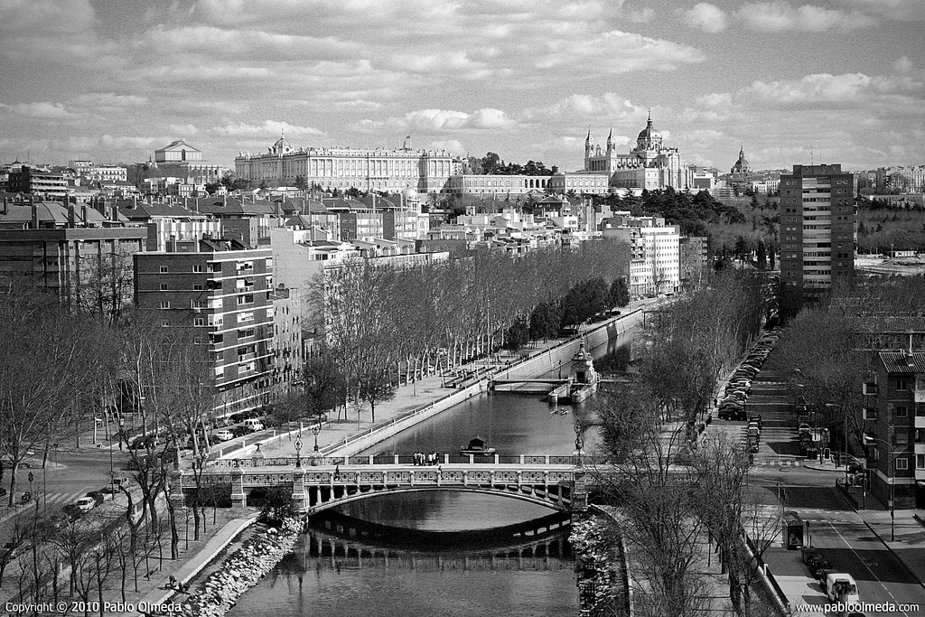 Vistas panorámicas de la parte oeste de la capital