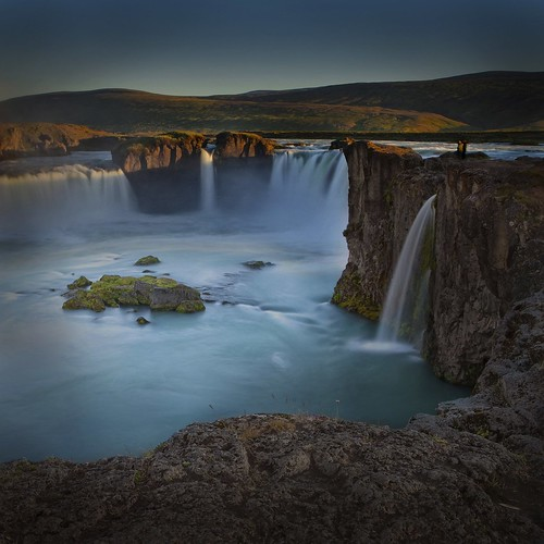 world travel sunset vacation inspiration color nature water beautiful landscape waterfall iceland rocks long exposure colours live group inspired we choice simply hdr deepavali the godafoss in redmatrix onlythebestofnature