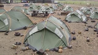 Campsite, Landmannalaugar, Iceland