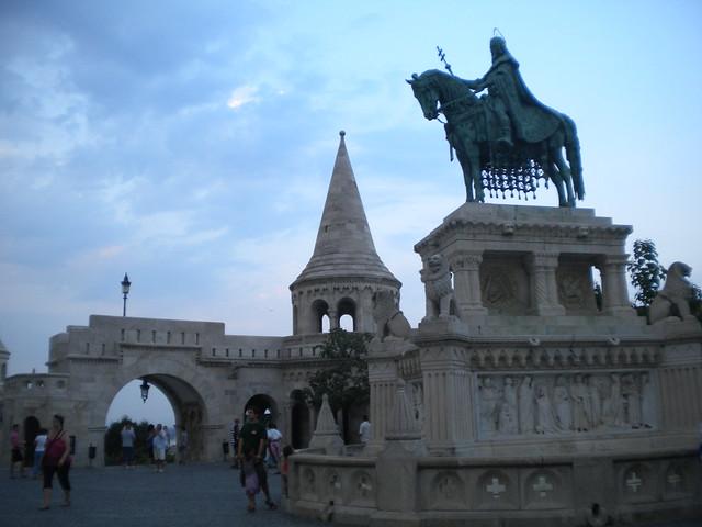 Bastión de los pescadores en Budapest