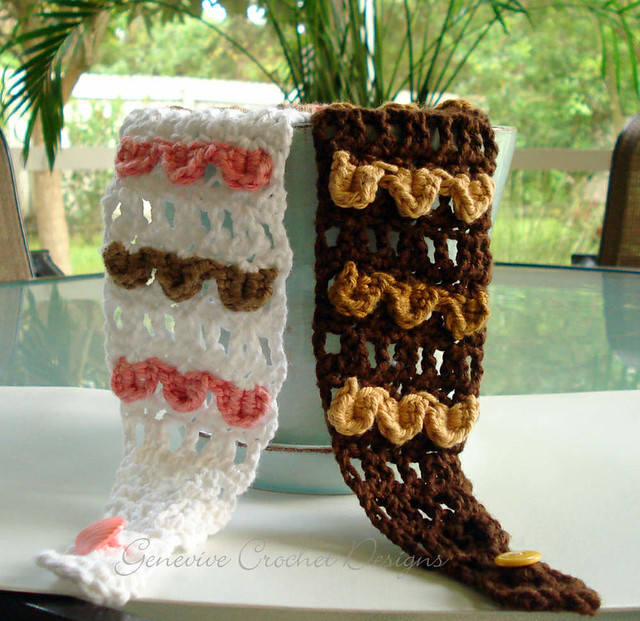 Free Crochet Pattern: Fun Fur® Urban Winter Leg Warmers