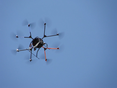 Multiple-Rotor Remote Sensing Aerial Copter