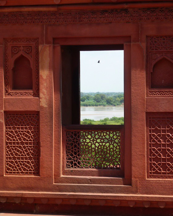 Agra Fort Window