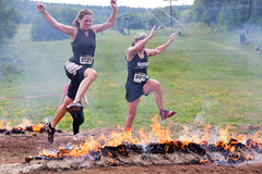 Warrior Dash Northeast 2011 - Windham, NY - 2011, Aug - 30.jpg by sebastien.barre