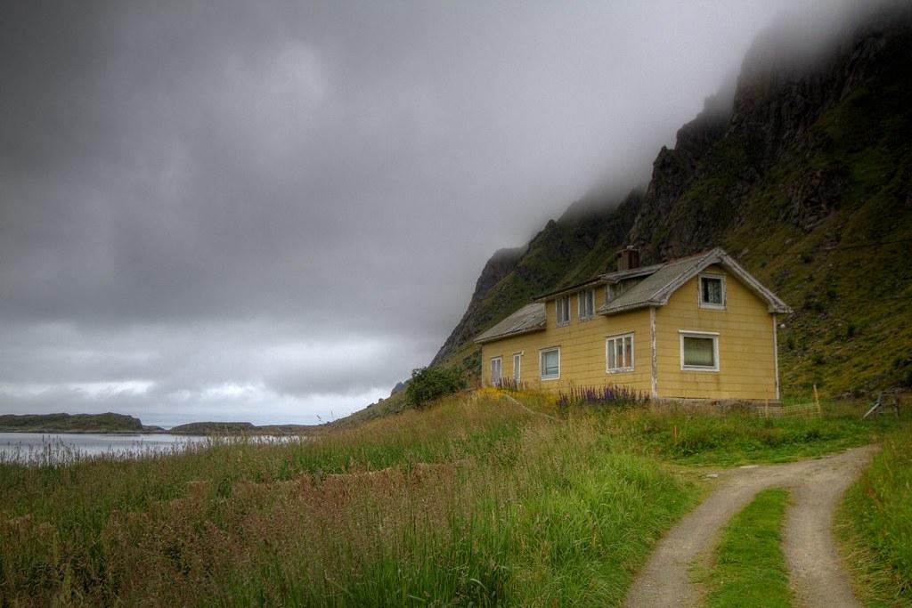 Sortland in Vestvågøy