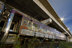 Abandoned Boston & Maine passenger car