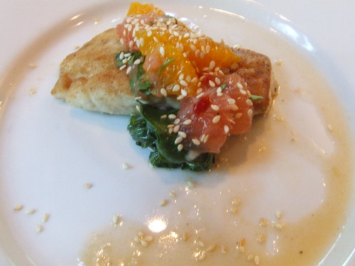 Gulf snapper with Texas citrus