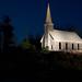 Locust Grove Church Light Painting