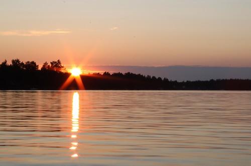sunset lake finland pietarsaari jakobstad pirilo