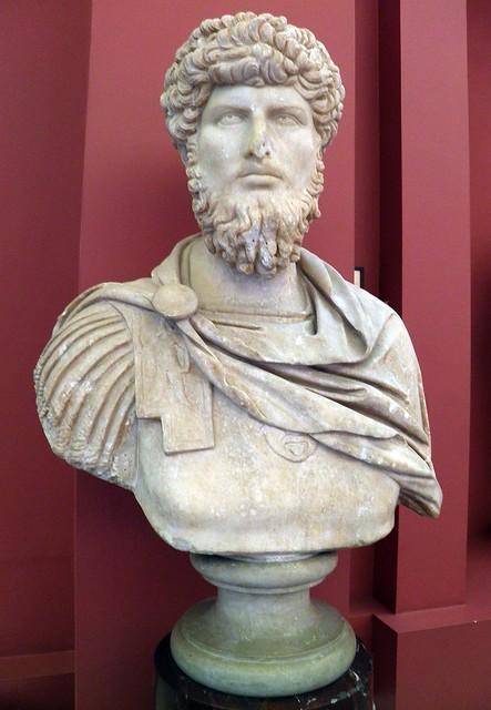Portrait of Lucius Verus, 2nd century AD, Ashmolean Museum
