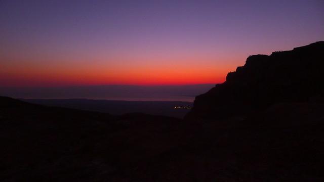 Sunrise on Massada