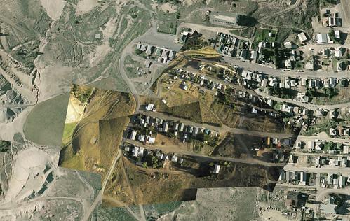 Northwestern Centerville, Butte, MT.  Photo collage