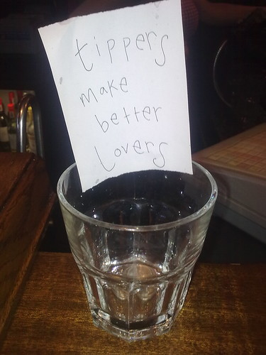 Tippers make better Lovers at Odder Bar